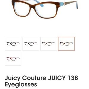 Juicy Couture frames - Like New!